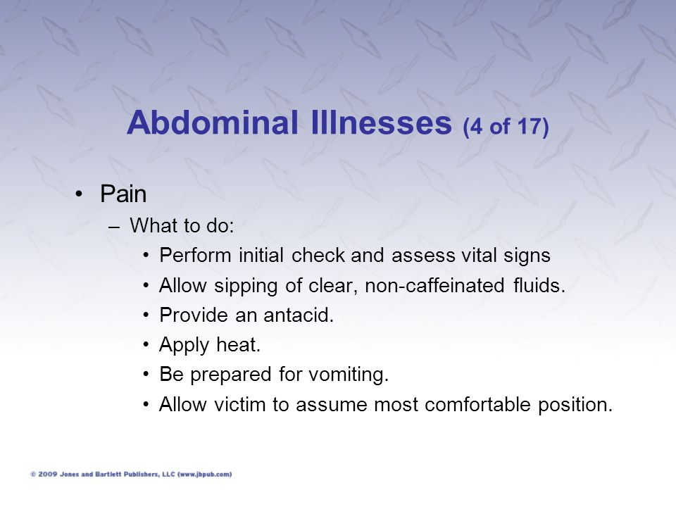 Abdominal Illnesses (4 of 17)