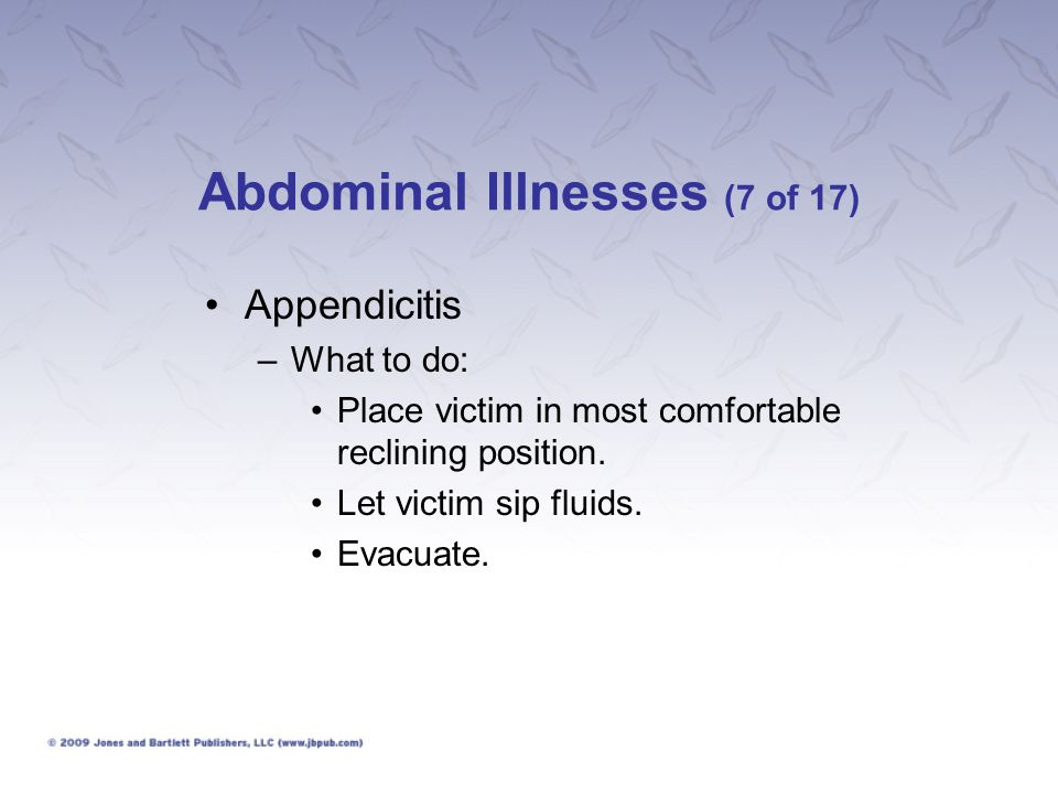 Abdominal Illnesses (7 of 17)