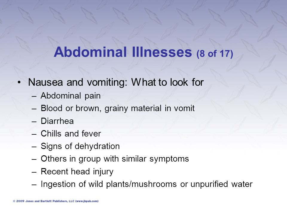 Abdominal Illnesses (8 of 17)