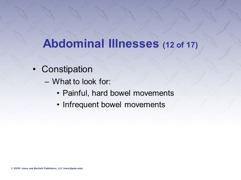 Abdominal Illnesses (12 of 17)