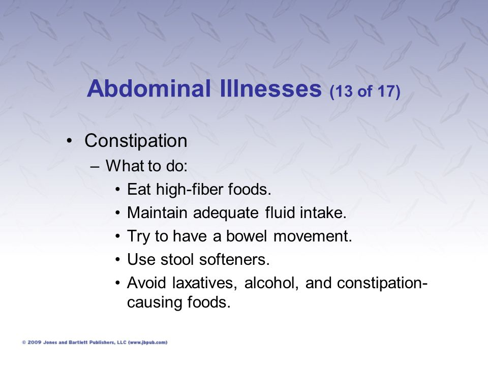 Abdominal Illnesses (13 of 17)
