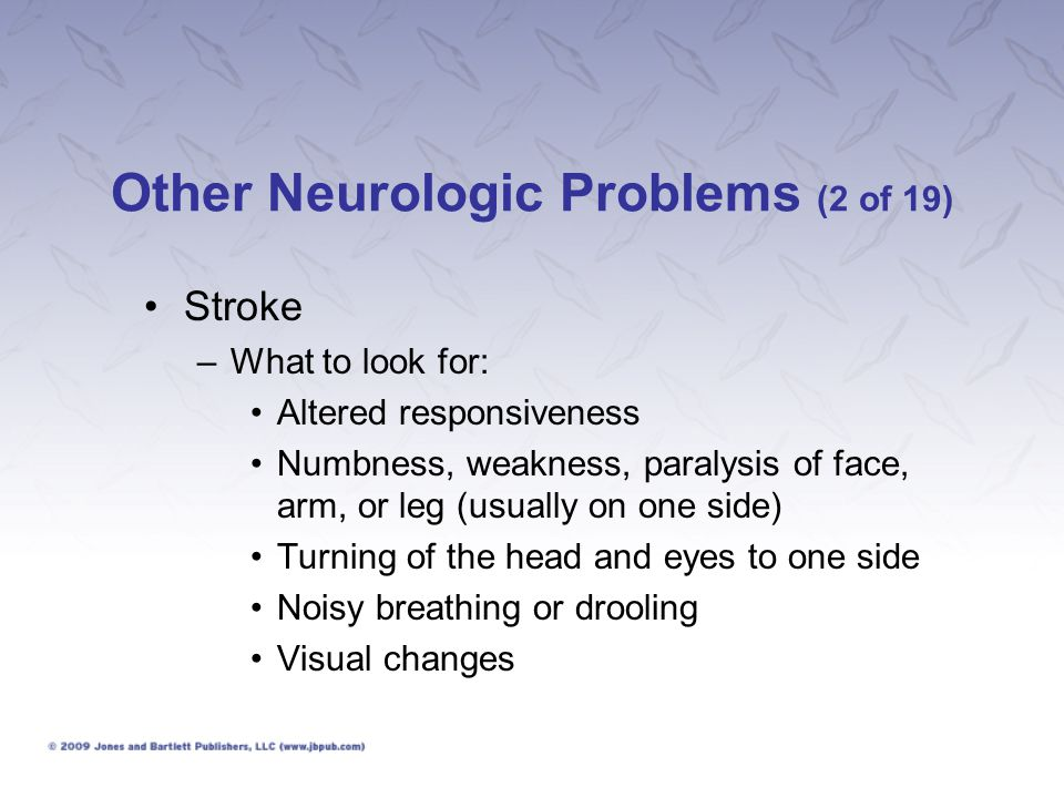 Other Neurologic Problems (2 of 19)