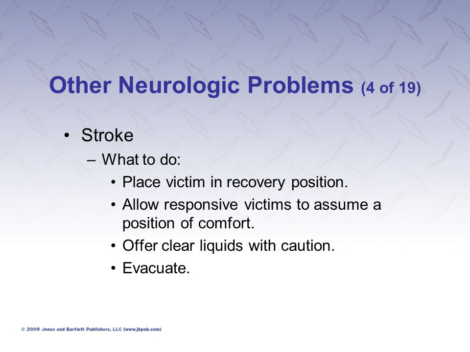 Other Neurologic Problems (4 of 19)