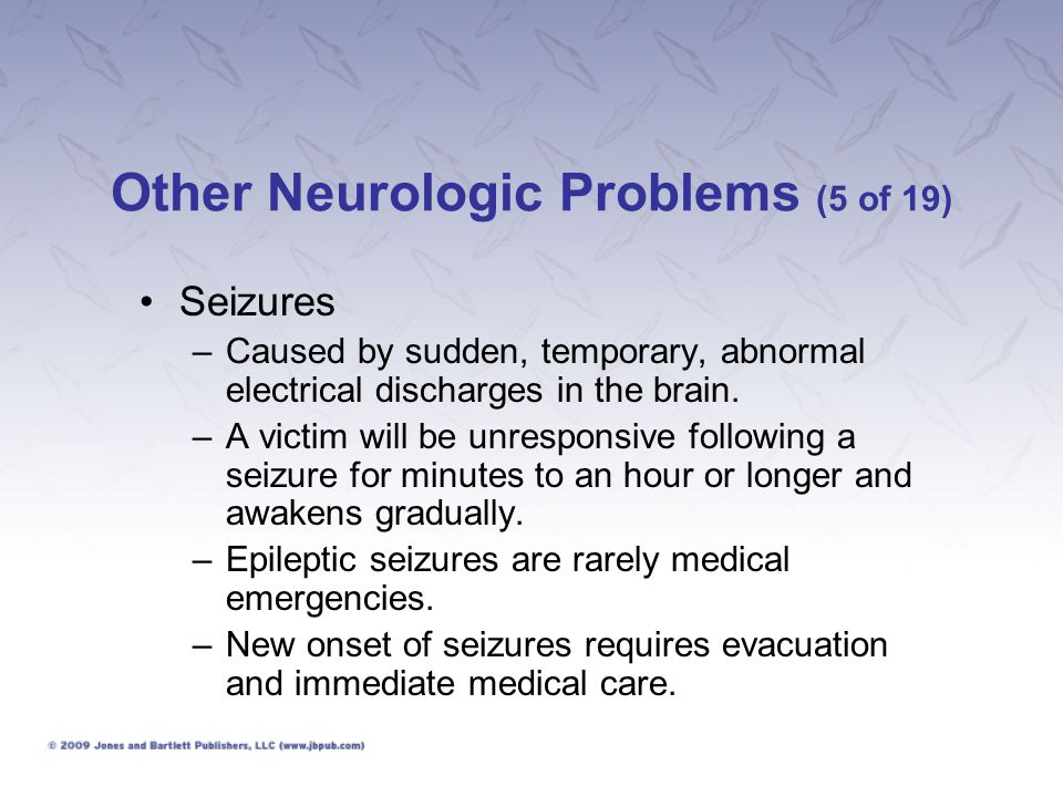 Other Neurologic Problems (5 of 19)
