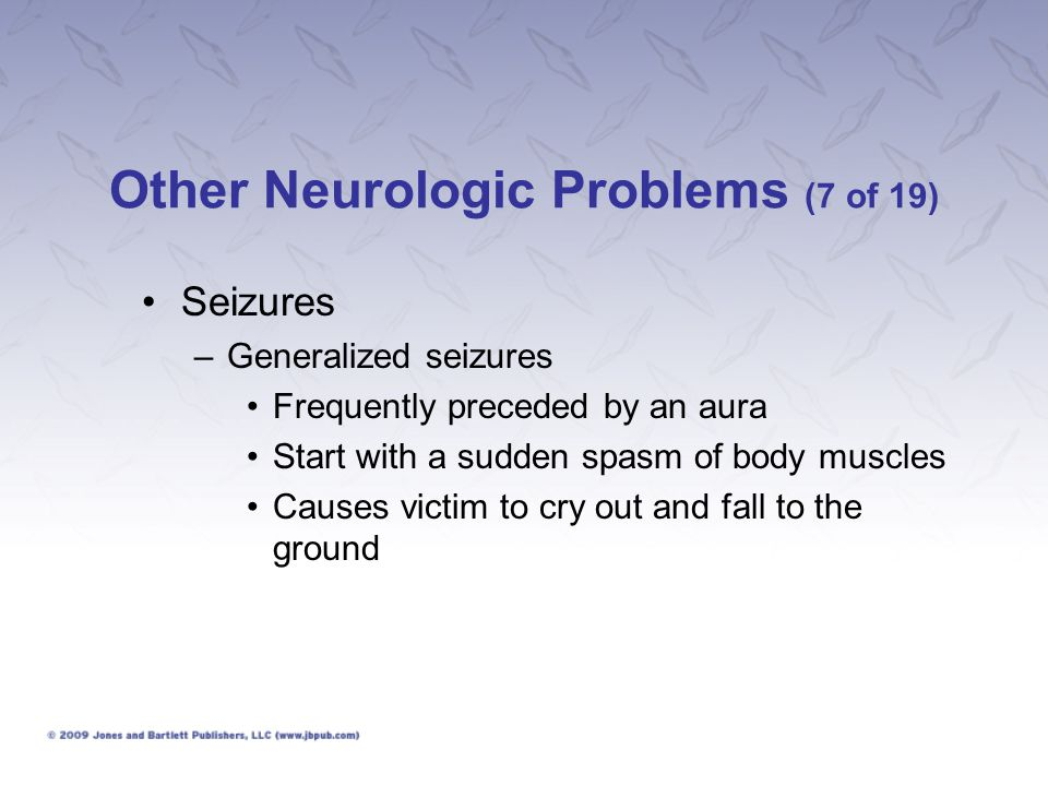 Other Neurologic Problems (7 of 19)