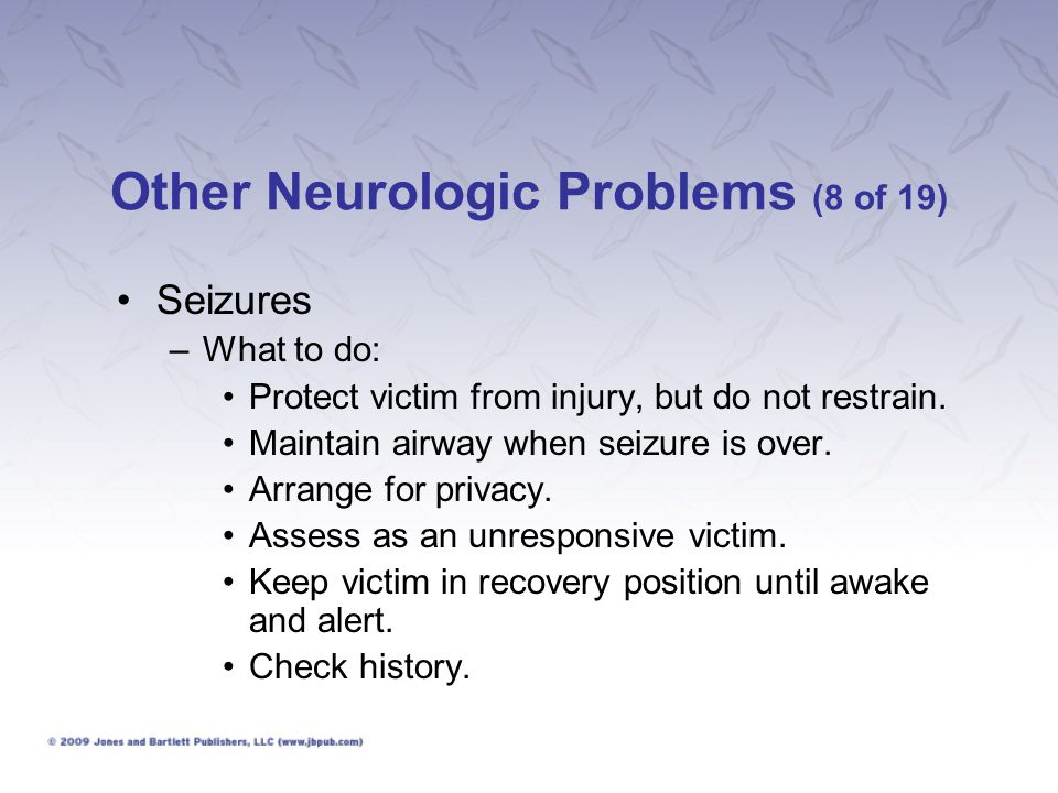 Other Neurologic Problems (8 of 19)