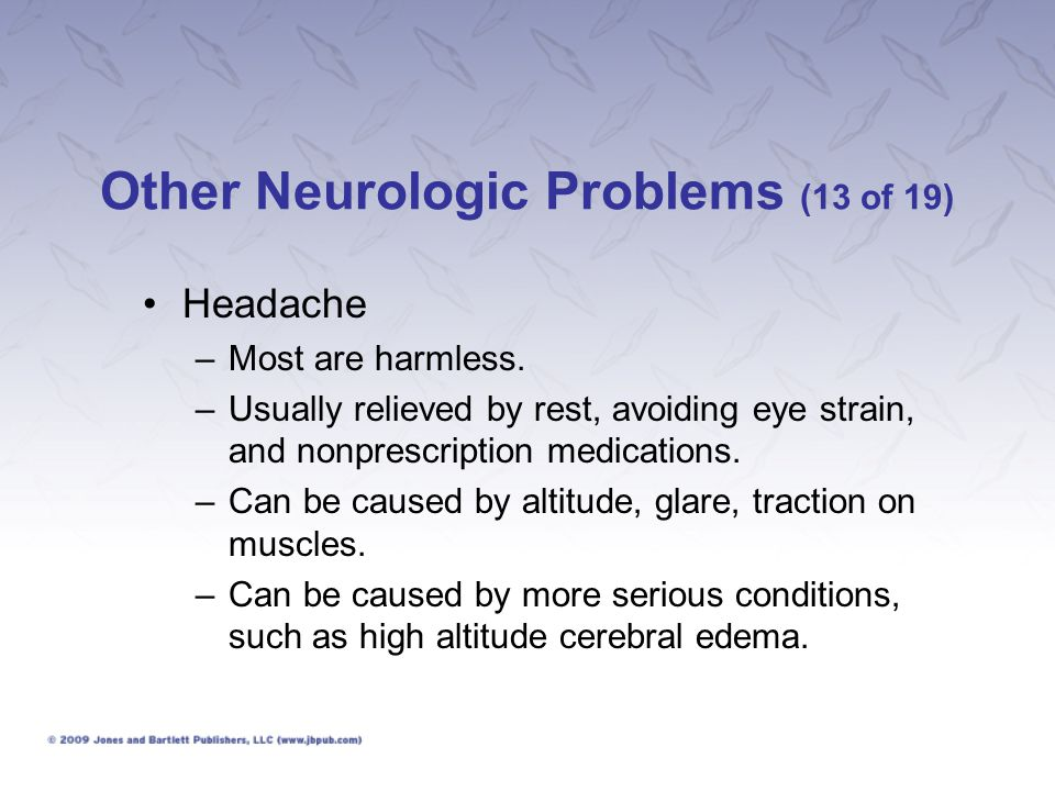 Other Neurologic Problems (13 of 19)