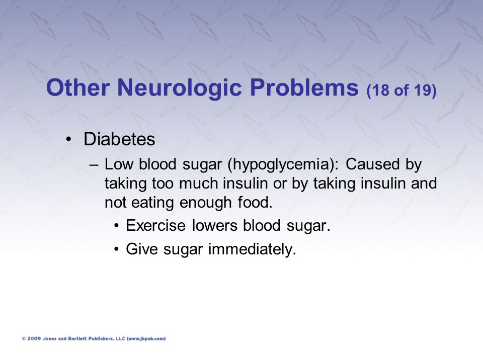 Other Neurologic Problems (18 of 19)