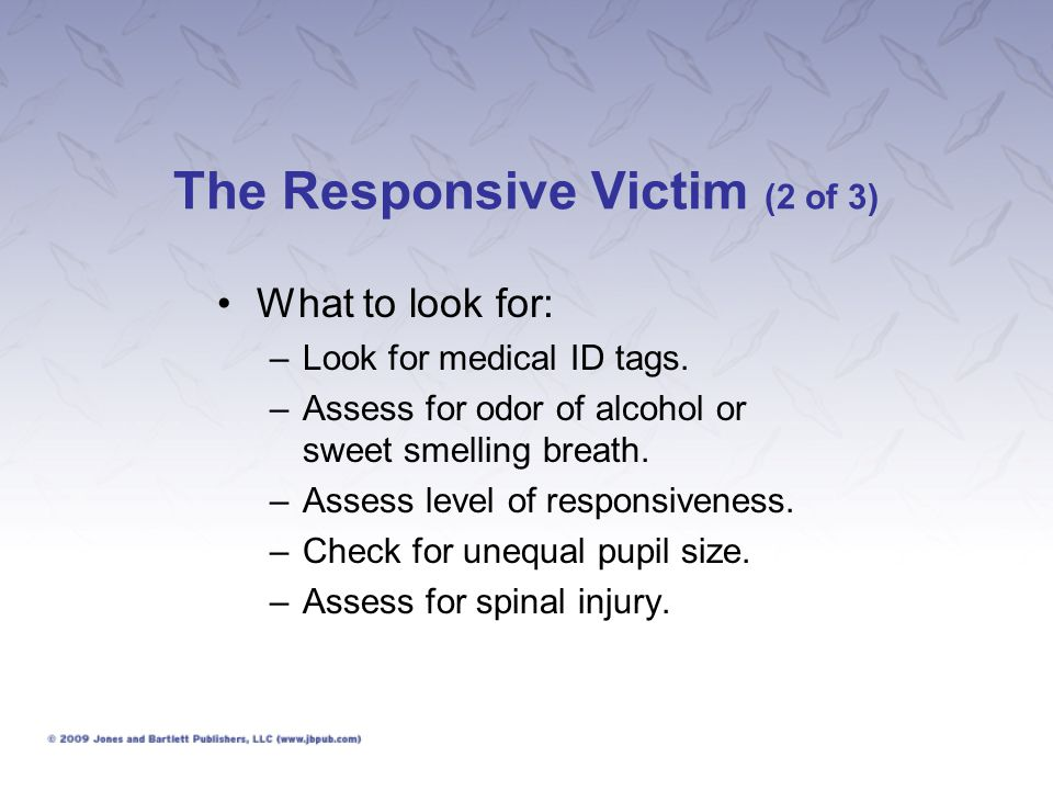 The Responsive Victim (2 of 3)
