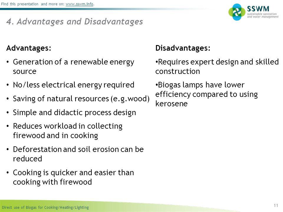 4. Advantages and Disadvantages
