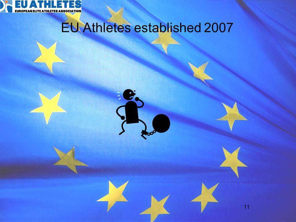 EU Athletes established 2007