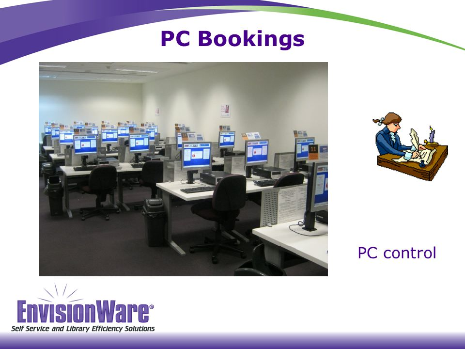 PC Bookings PC control