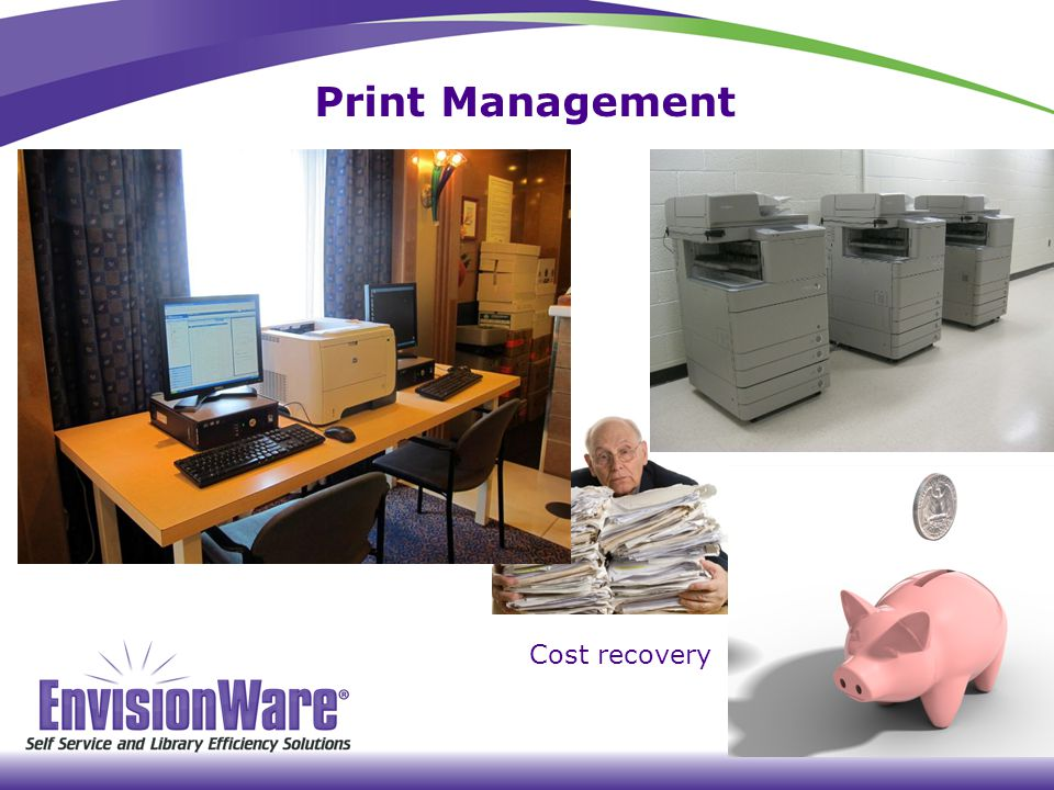 Print Management Cost recovery