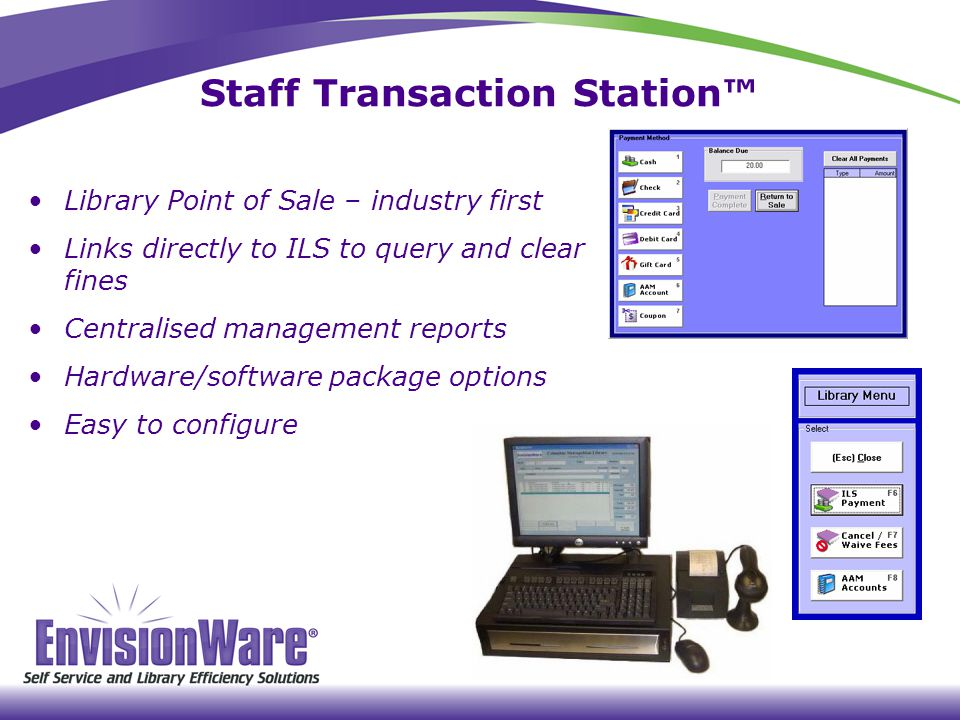 Staff Transaction Station™
