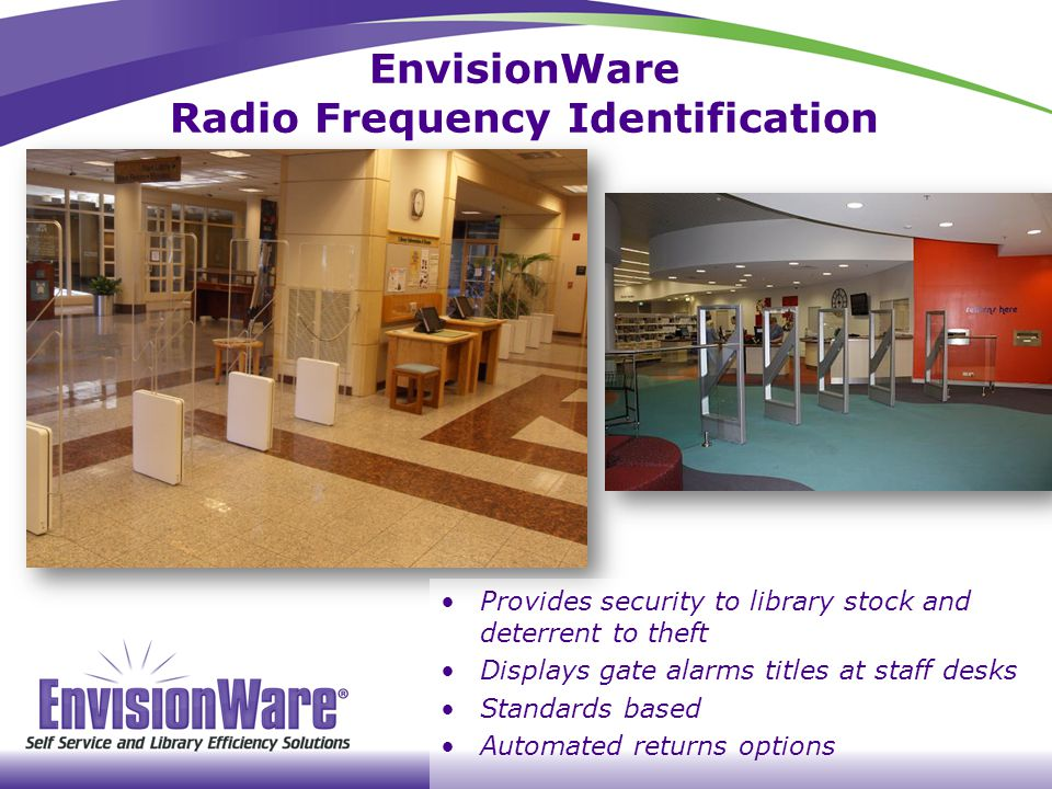 EnvisionWare Radio Frequency Identification