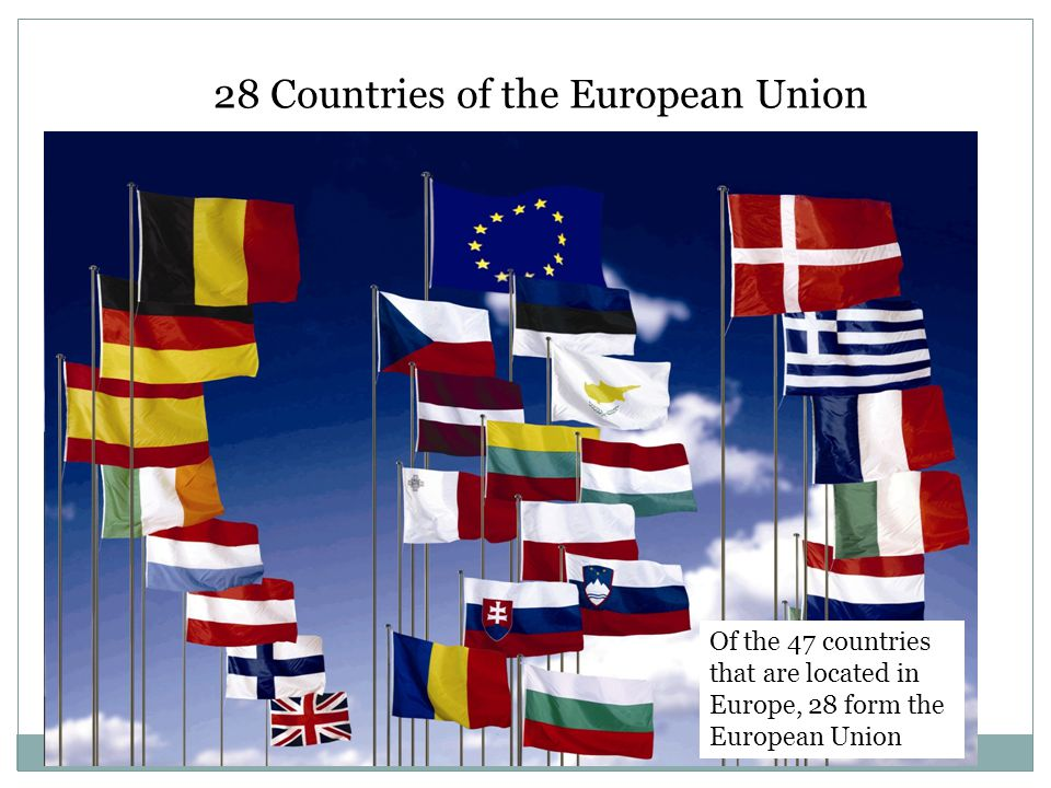 28 Countries of the European Union