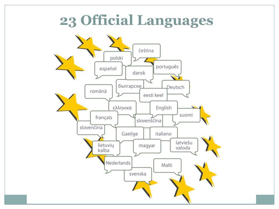 23 Official Languages