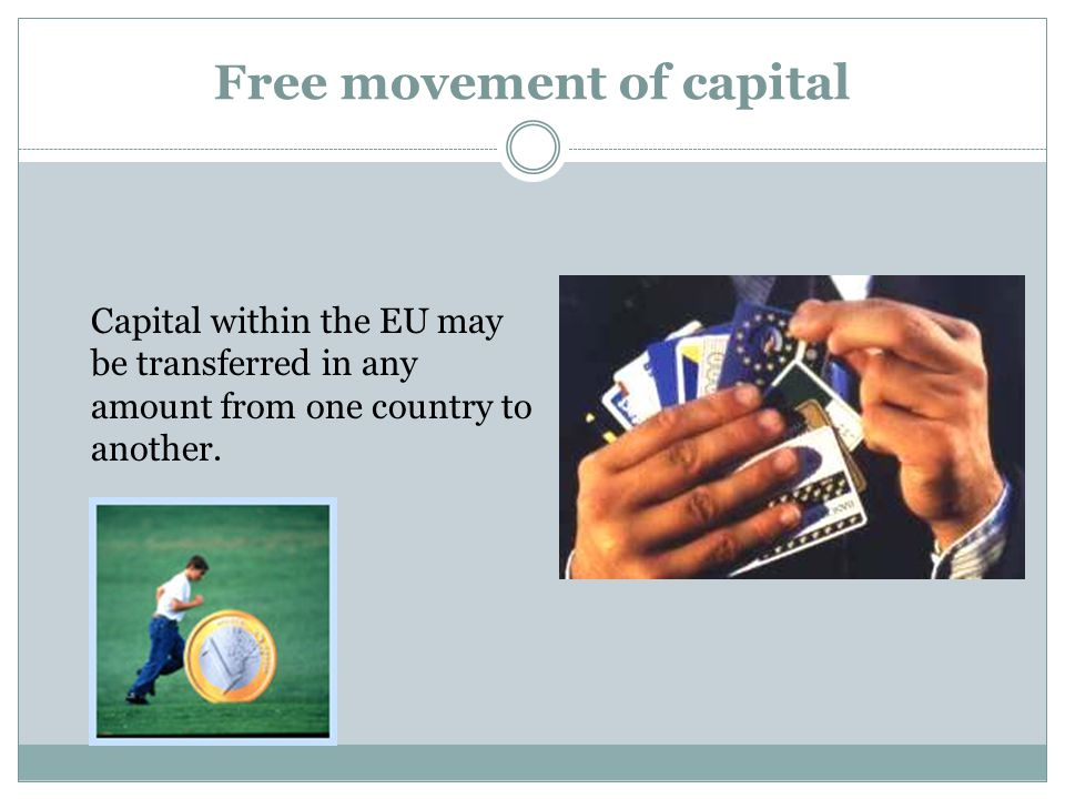 Free movement of capital