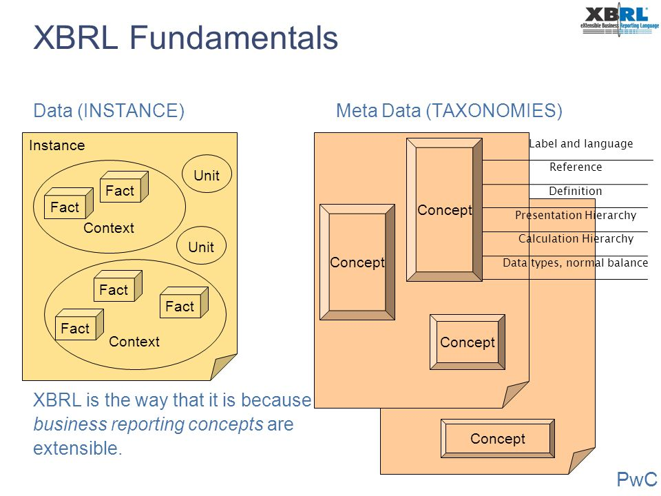 XBRL Fundamentals Data (INSTANCE)