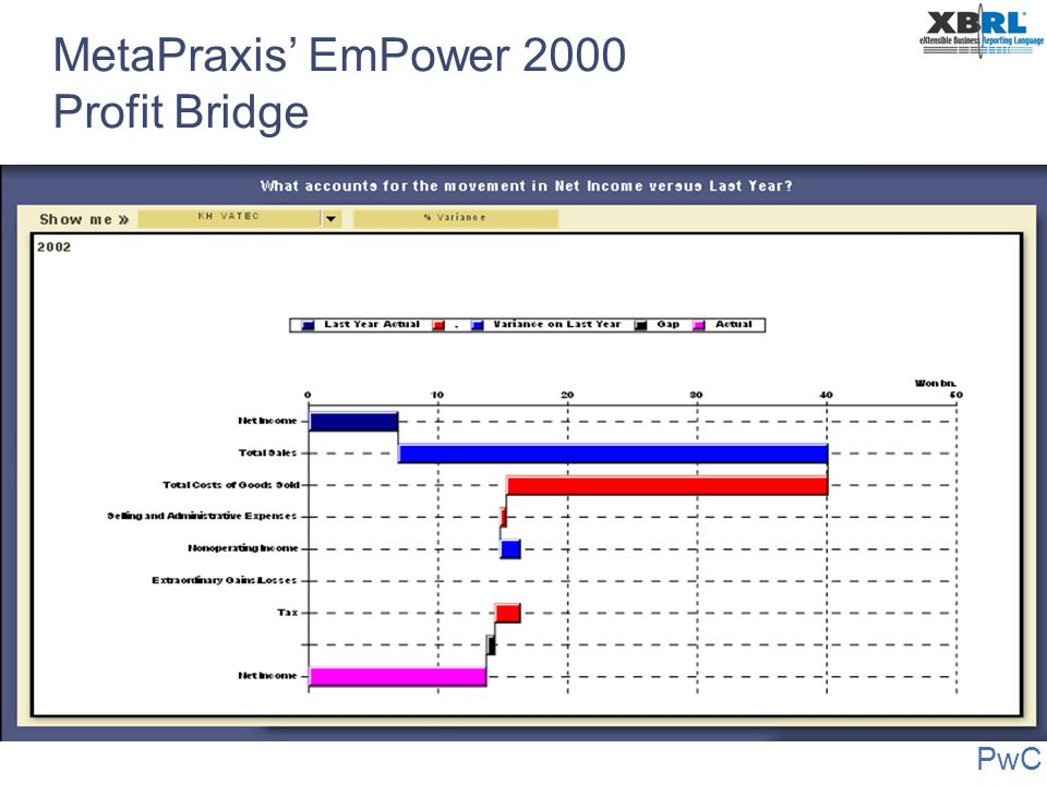 MetaPraxis' EmPower 2000 Profit Bridge