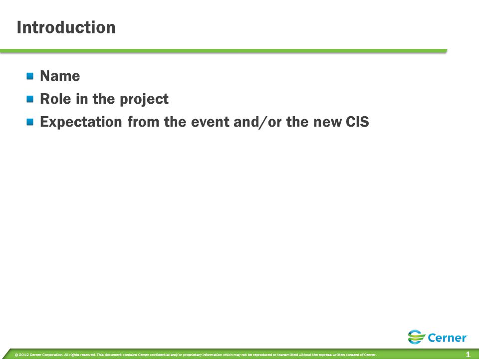 Project Kickoff and System Review Expectations