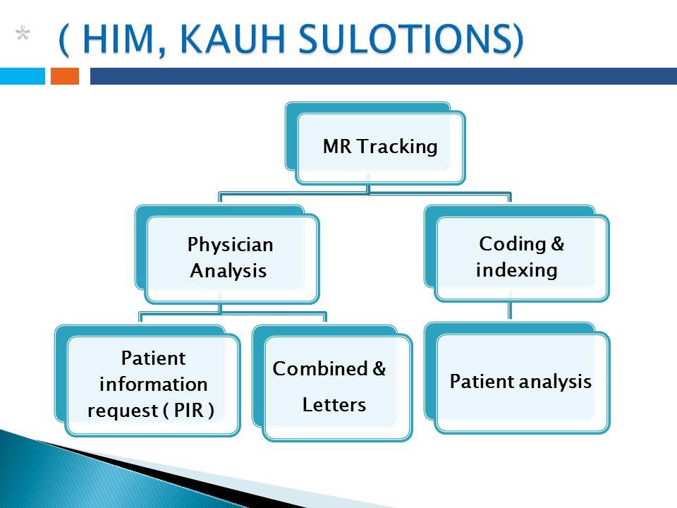 Patient information request ( PIR )