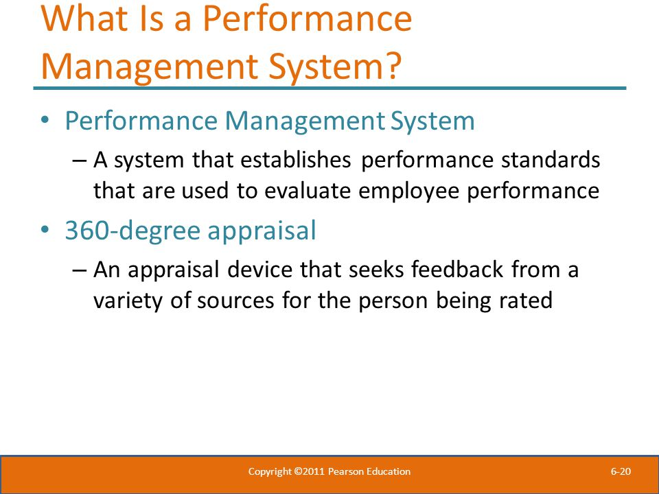 What Is a Performance Management System