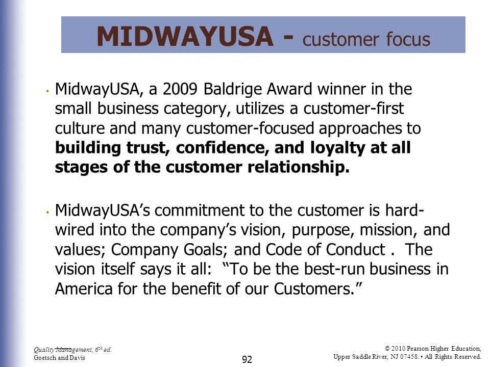 MidwayUSA - customer focus