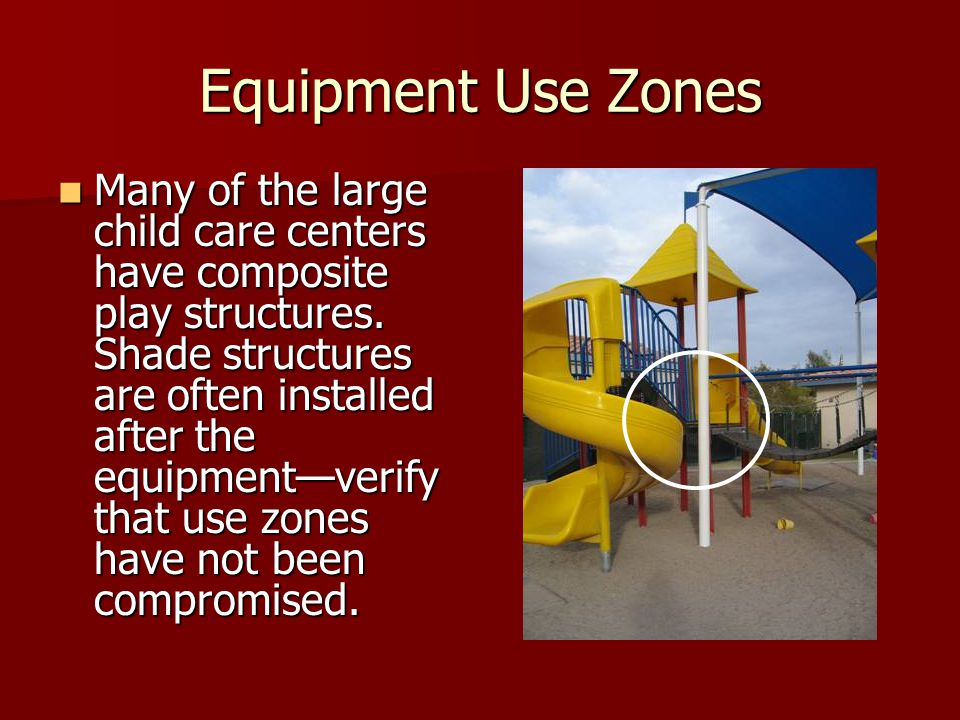 Equipment Use Zones