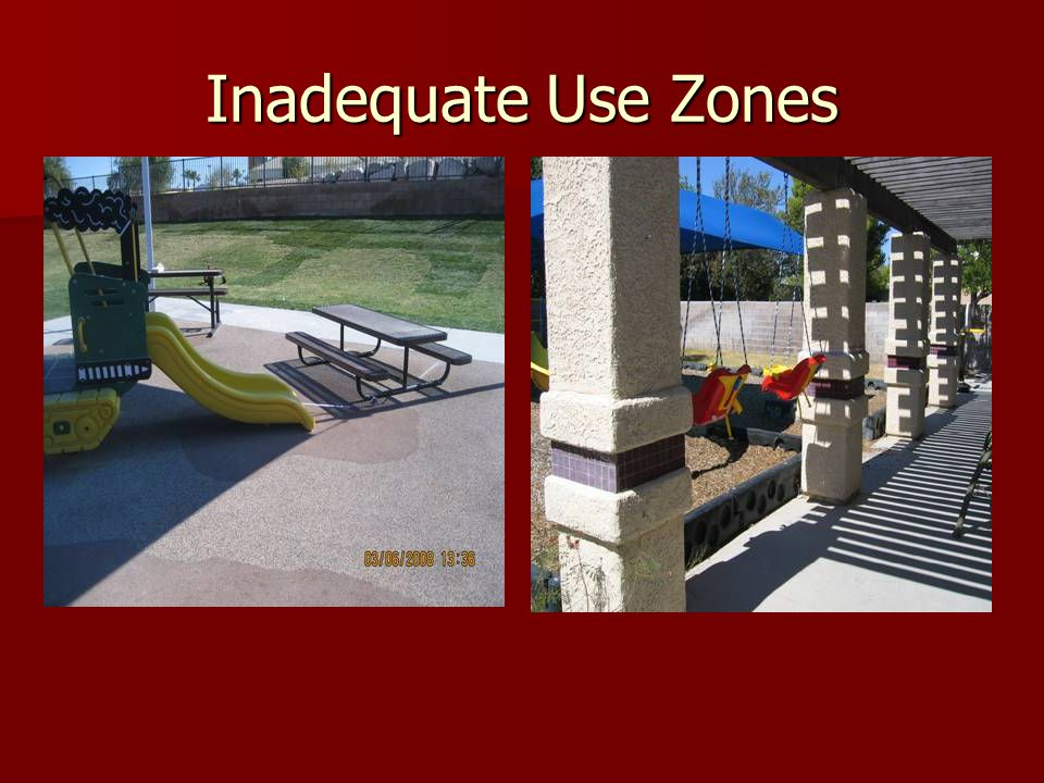 Inadequate Use Zones