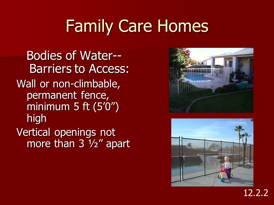Bodies of Water--Barriers to Access: