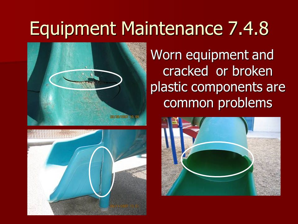 Equipment Maintenance 7.4.8