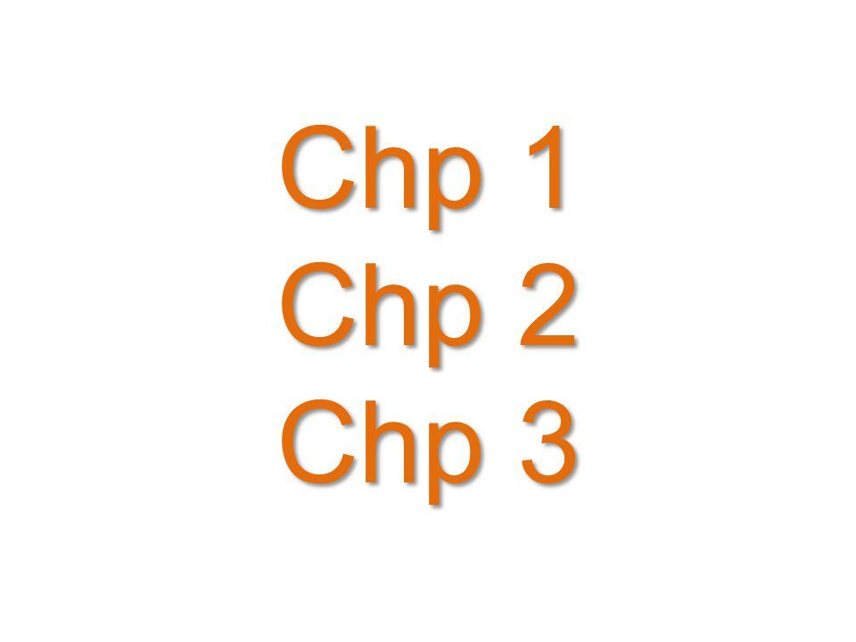 Chp 1 Chp 2 Chp 3 20