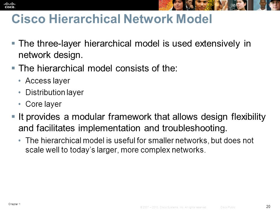 Cisco Hierarchical Network Model