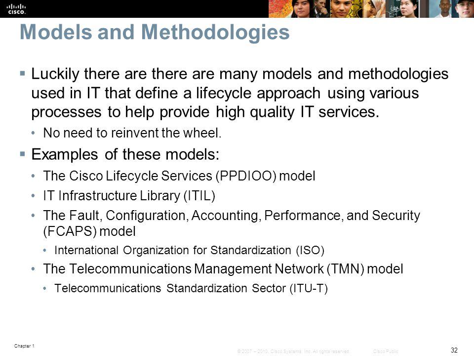 Models and Methodologies