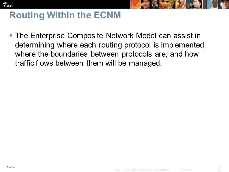 Routing Within the ECNM