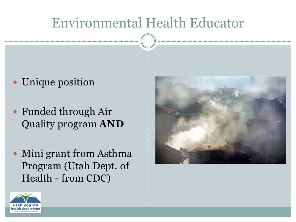 Environmental Health Educator
