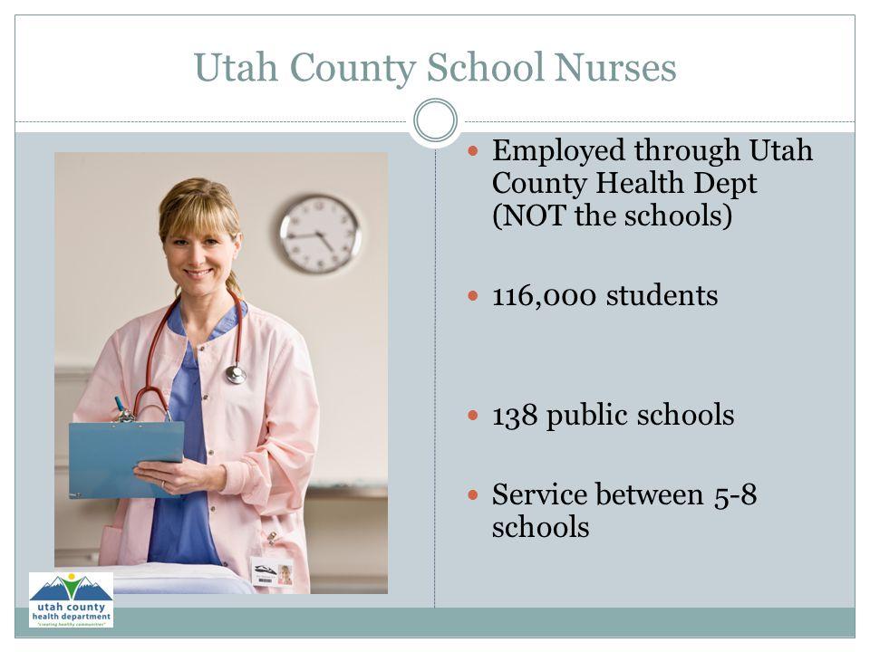 Utah County School Nurses