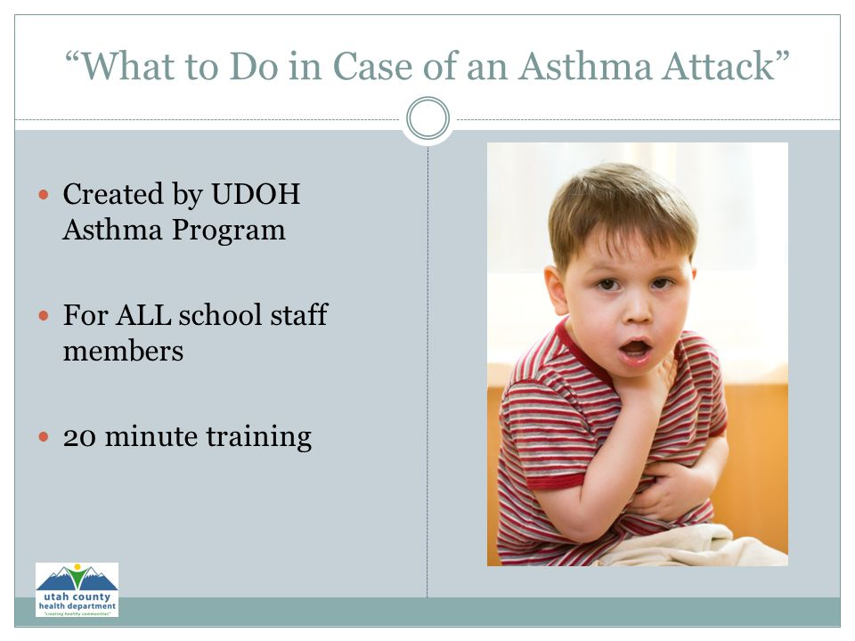 What to Do in Case of an Asthma Attack