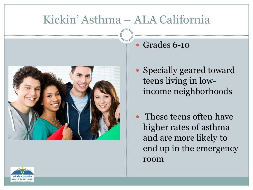 Kickin' Asthma – ALA California