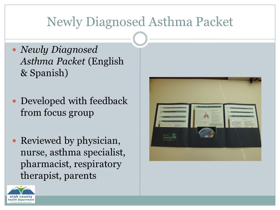 Newly Diagnosed Asthma Packet