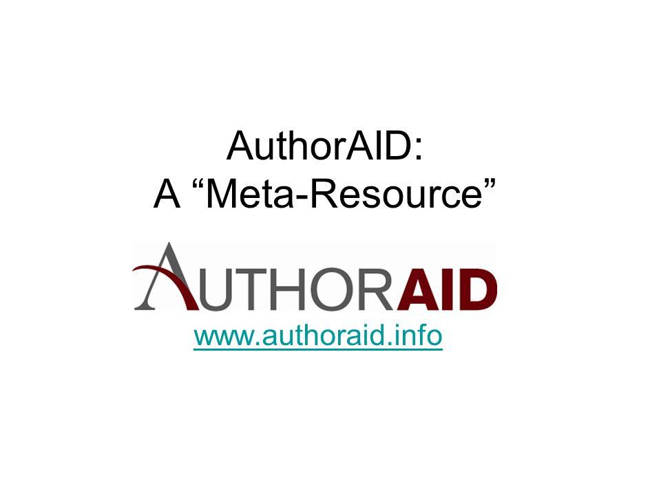 AuthorAID: A Meta-Resource