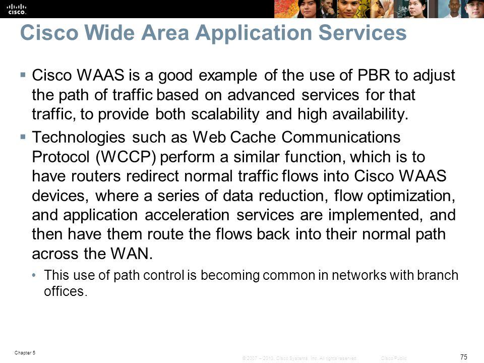 Cisco Wide Area Application Services