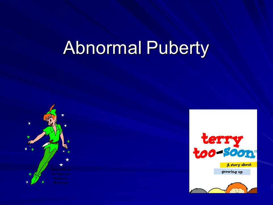Abnormal Puberty
