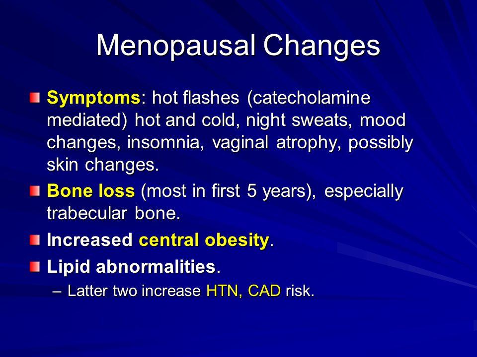 Menopausal Changes