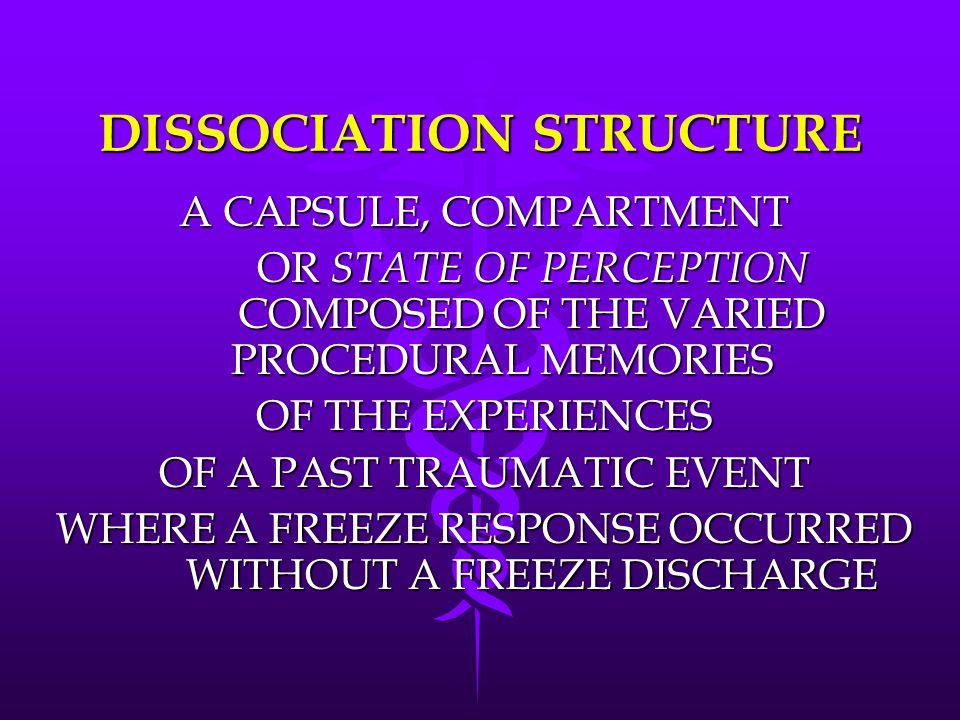 DISSOCIATION STRUCTURE