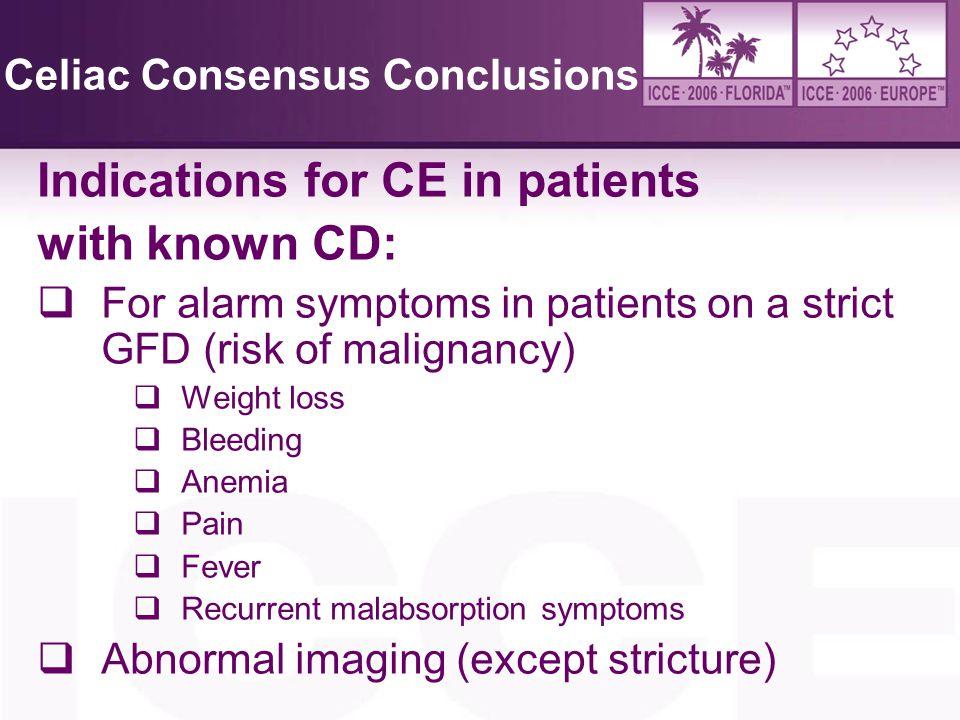 Celiac Consensus Conclusions
