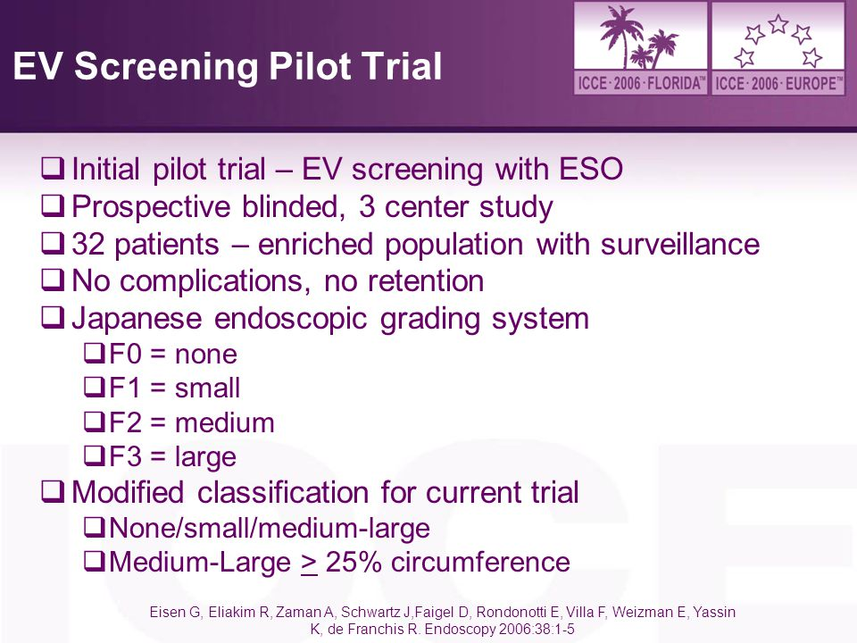 EV Screening Pilot Trial