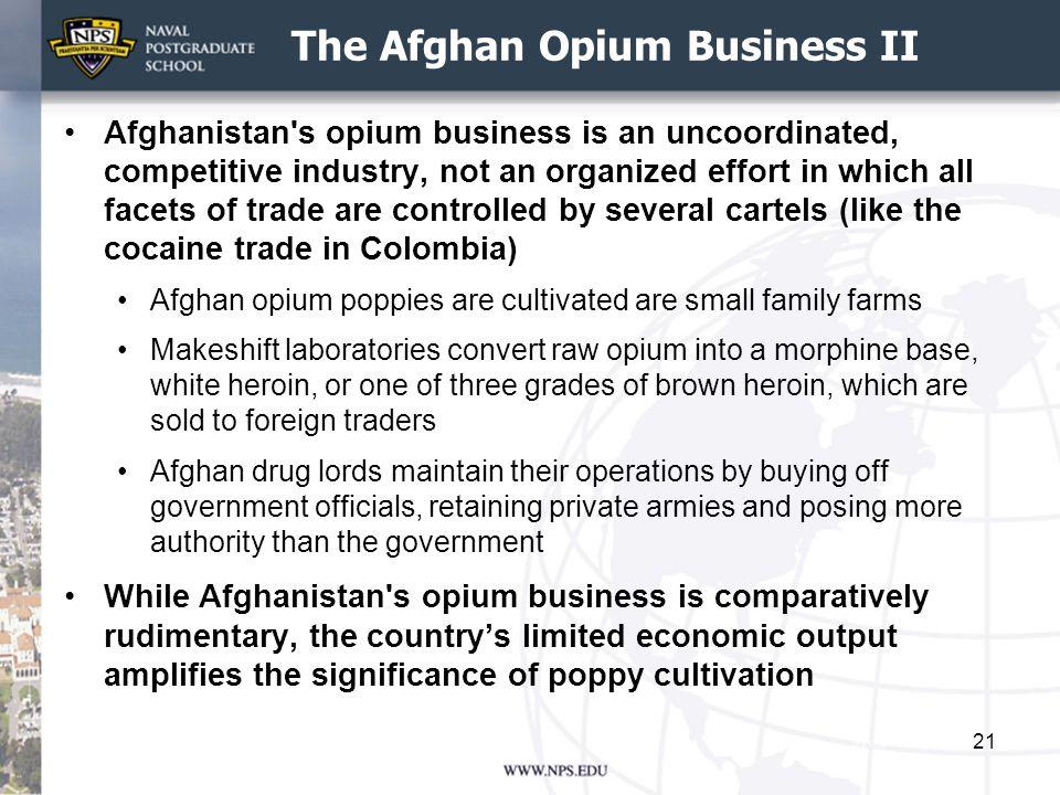 The Afghan Opium Business II