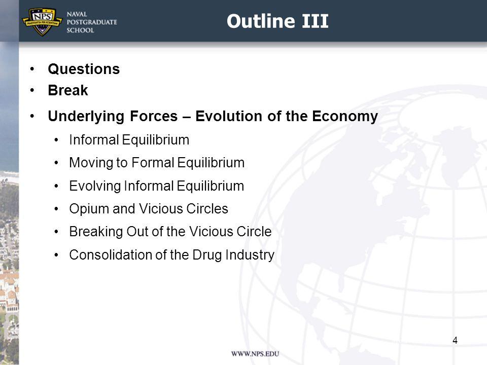 Outline III Questions Break